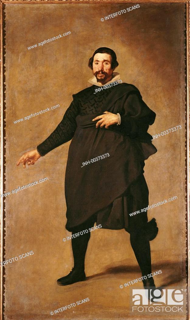 Stock Photo: Ü Kunst, Velasquez, Diego Rodriguez de Silva y 6.6.1599 - 6.8.1660, Gemälde Pablo de Valladolid Prado, Madrid barock ganzfigur, eines mannes, mann.
