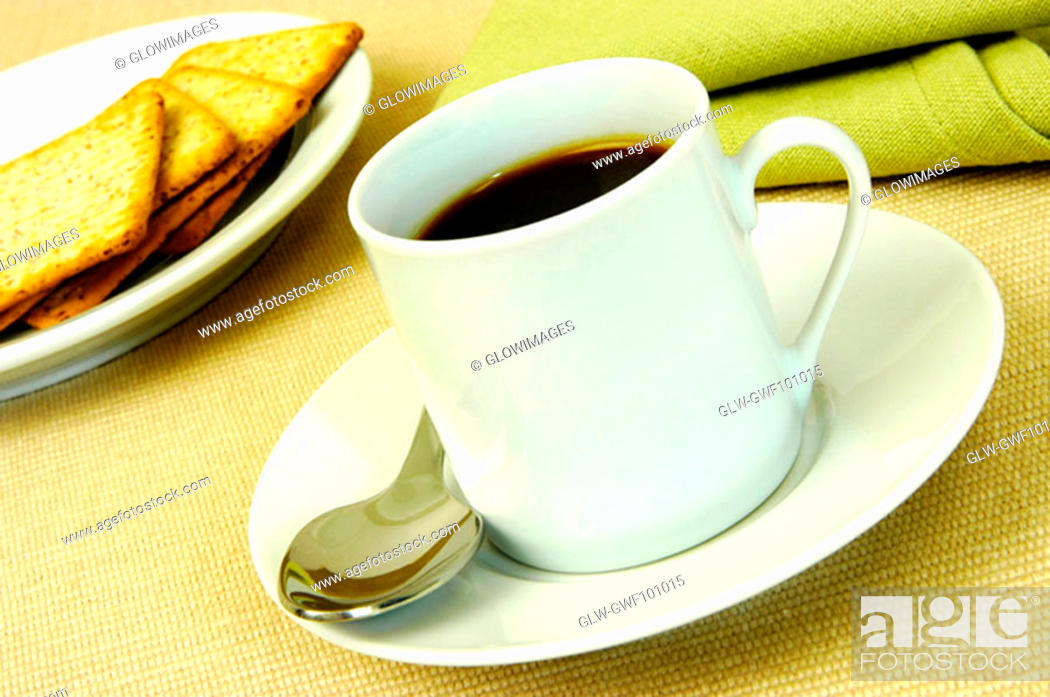 Stock Photo: Close-up of coffee in a cup.