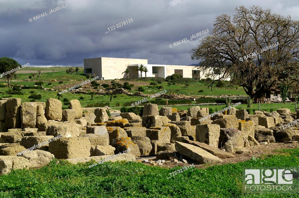 Imagen: Rate (Spain). Interpretation center of the Roman city of Baelo Claudia.