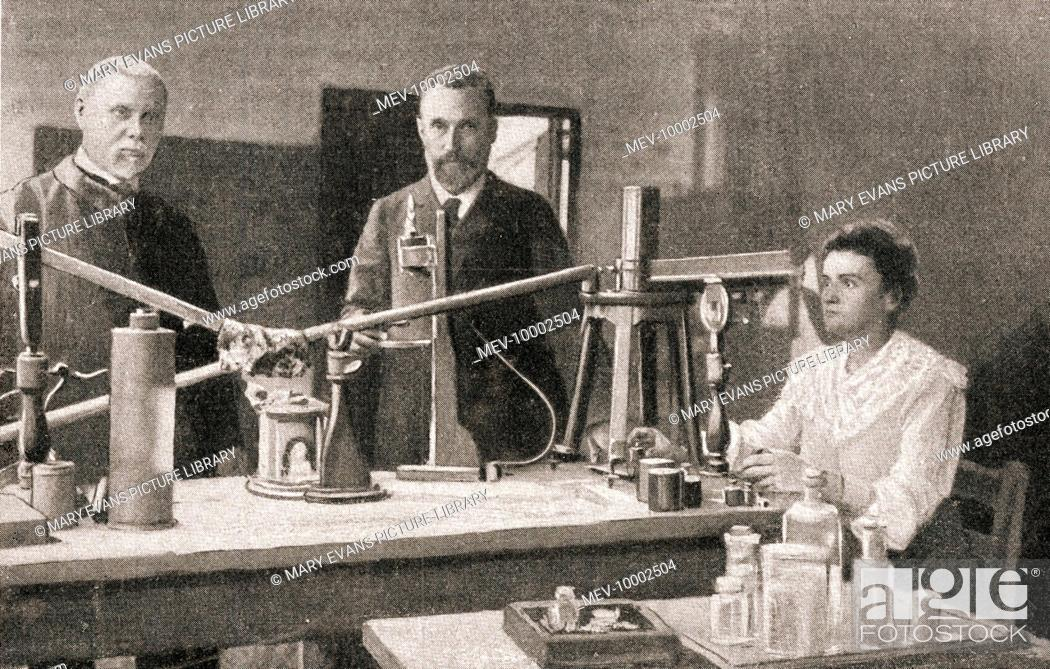 What did marie and pierre curie discover
