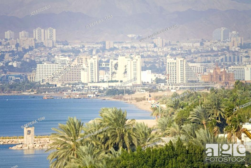 Stock Photo: Jordan, Aqaba and Red Sea.
