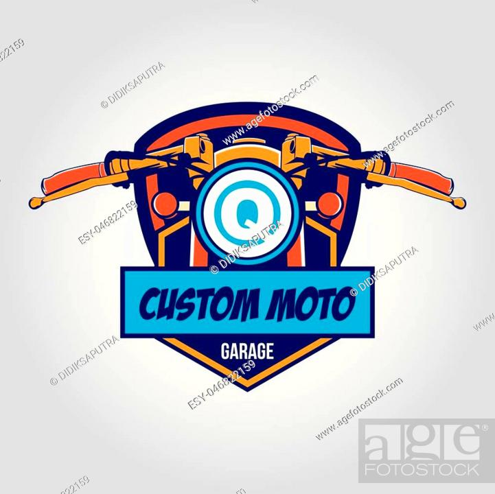 Emblem For Sport Garage Logo Sport Motor Logo Stock Vector Vector And Low Budget Royalty Free Image Pic Esy 046822159 Agefotostock