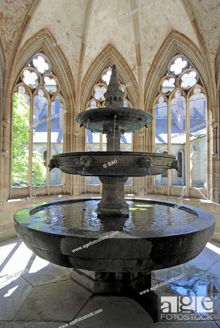 Stock Photo: Cistercian Abbey of Maulbronn, Baden Wurttemberg, Germany.