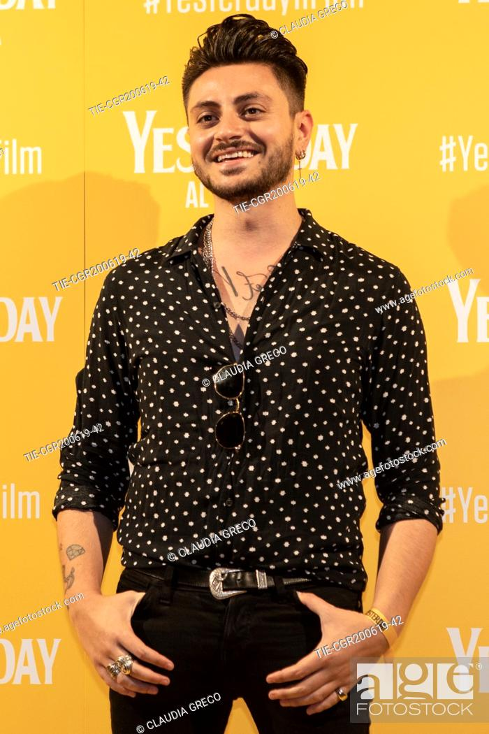 Imagen: Virginio Simonelli during the photocall of film ' Yesterday ' in Milan, ITALY-20-06-2019.