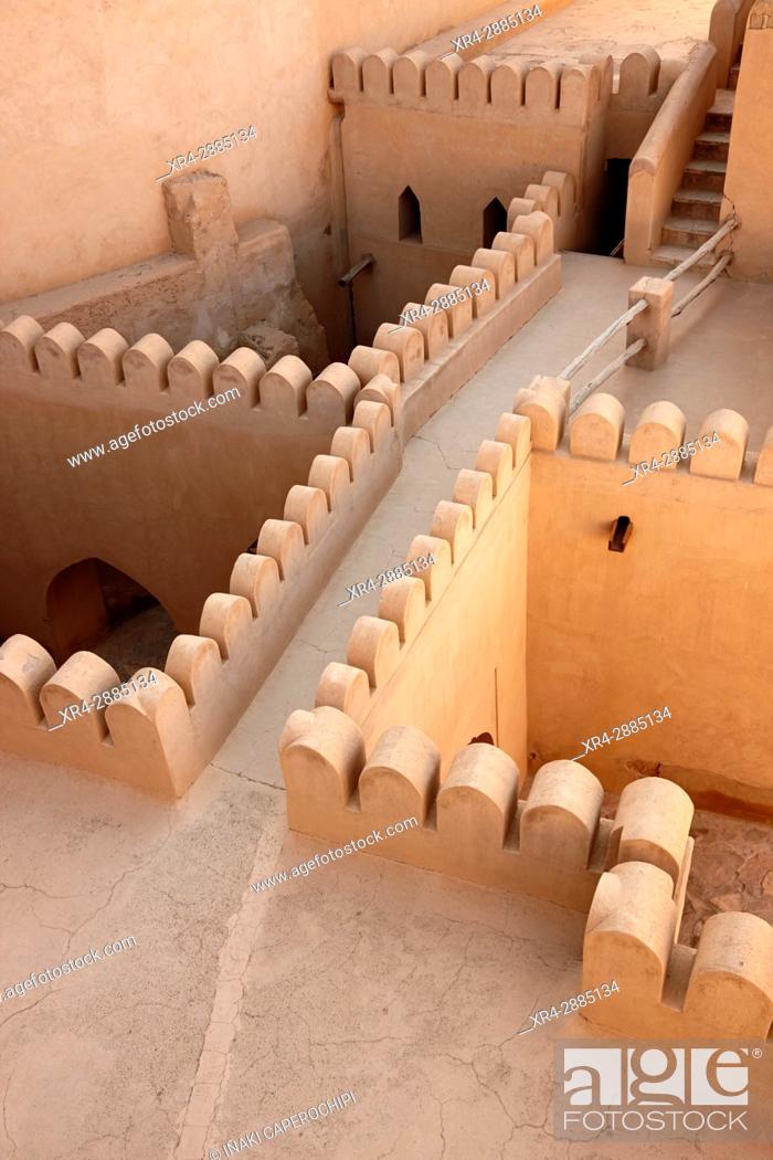 Stock Photo: Inside the fort. Nizwa, Oman.