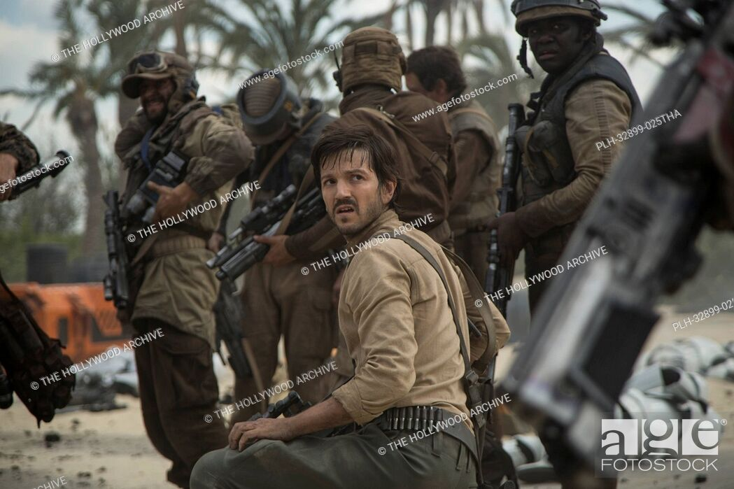 Stock Photo: Rogue One: A Star Wars Story. Cassian Andor (Diego Luna).