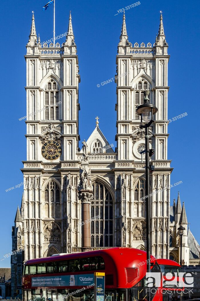 Imagen: The Exterior of Westminster Abbey On A Sunny Autumn Day, London, UK.