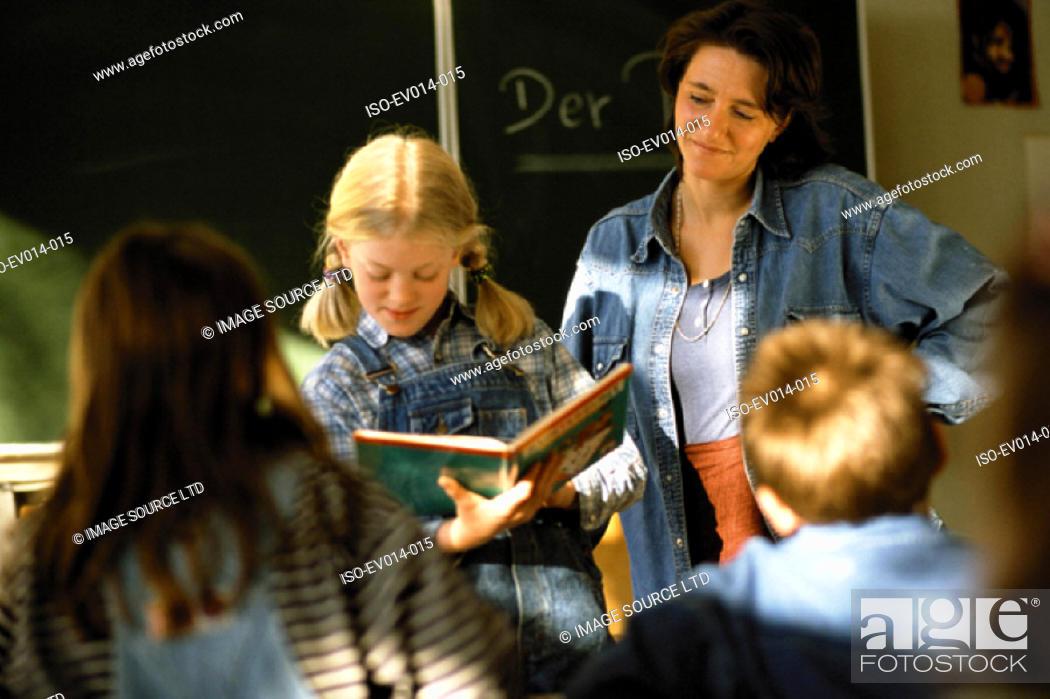 Stock Photo: Kids in class.