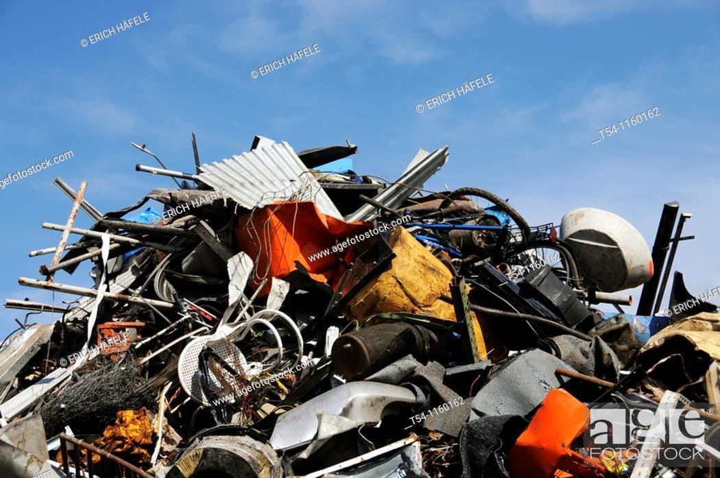 Stock Photo: Scrap heap.