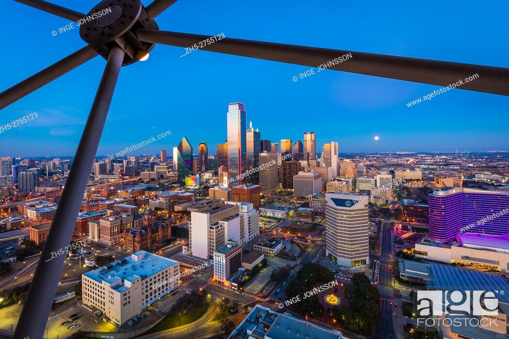 Stock Photo: Dallas is the ninth most populous city in the United States of America and the third most populous city in the state of Texas.
