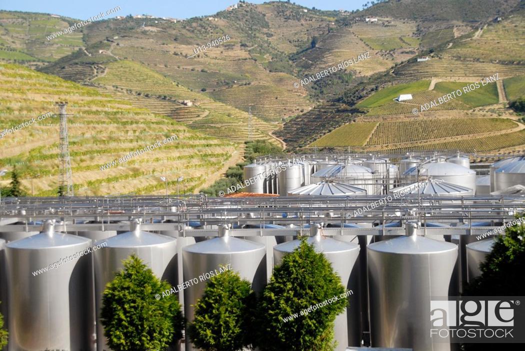 Stock Photo: Douro Valley Portugal.
