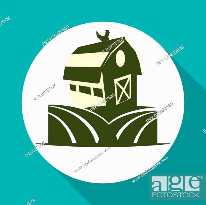 Stock Vector: Farm Fresh concept with icon design, vector illustration 10 eps graphic.