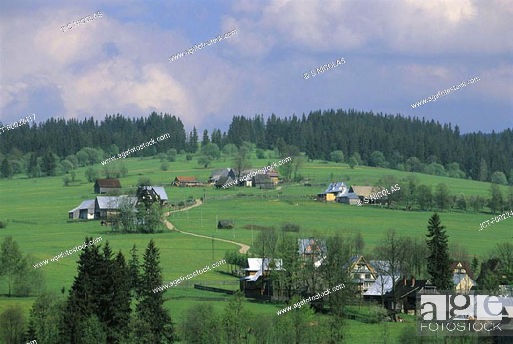 Stock Photo: Poland, near Zakopane.