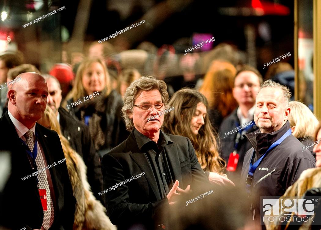Us Actor Kurt Russell Arrives For The German Premiere Of The Film The Hateful 8 At The Zoo Palast Stock Photo Picture And Rights Managed Image Pic Pah 65379948 Agefotostock