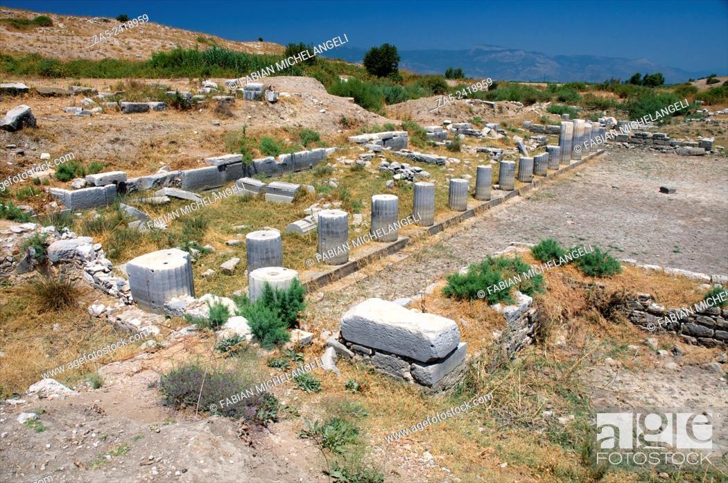 Stock Photo: North Agora at Miletos. Anatolia, Turkey.