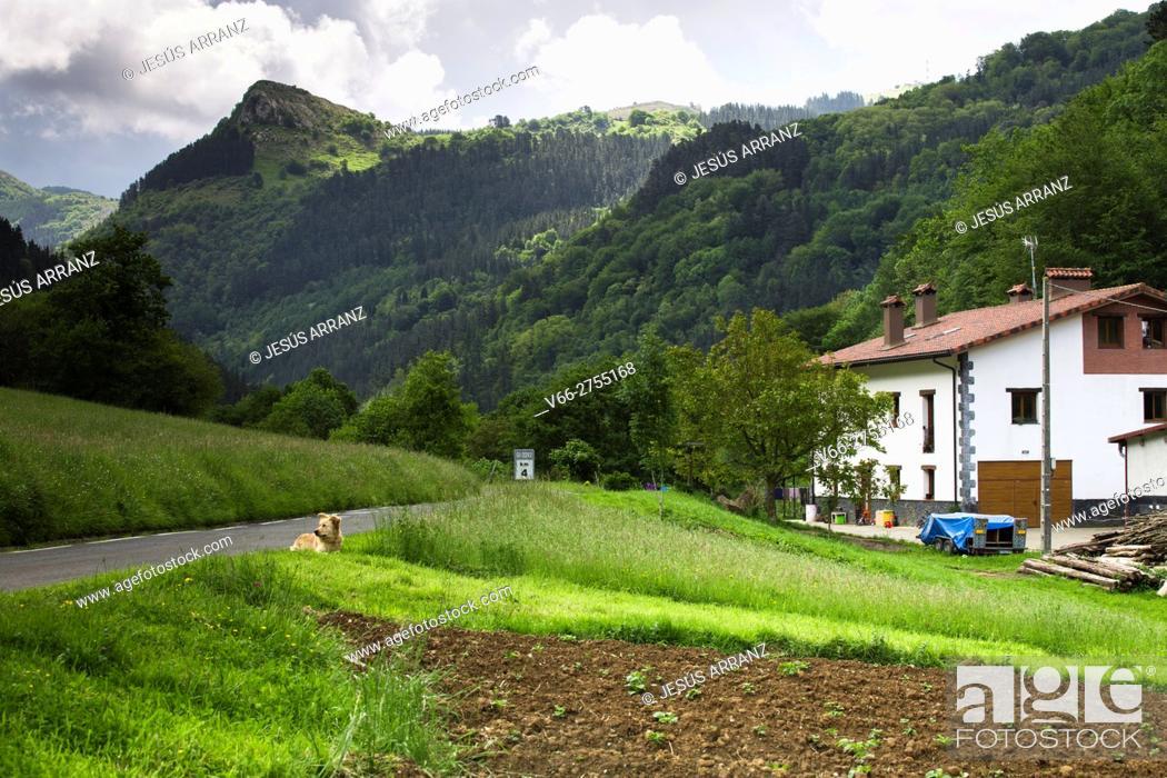 Imagen: Valle de Lastur.