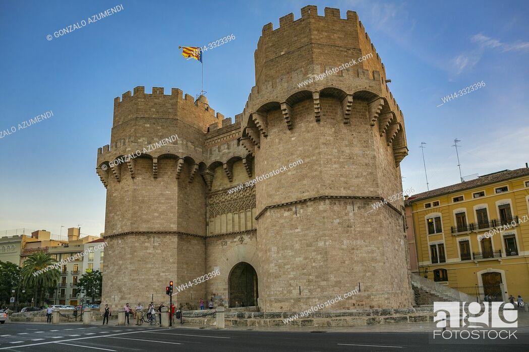Imagen: Serranos Towers. Valencia. Comunidad Valenciana. Spain.