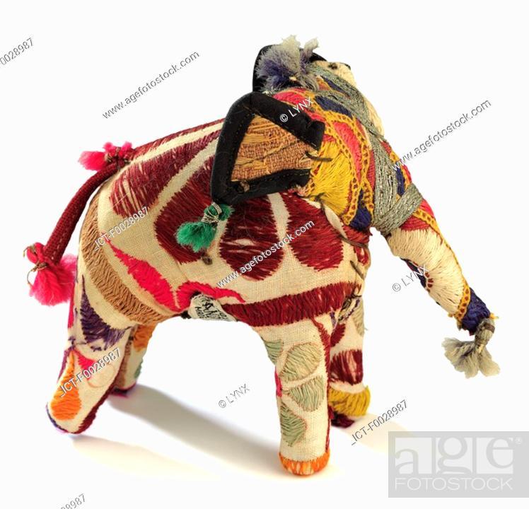 Stock Photo: World symbols: elephant India.