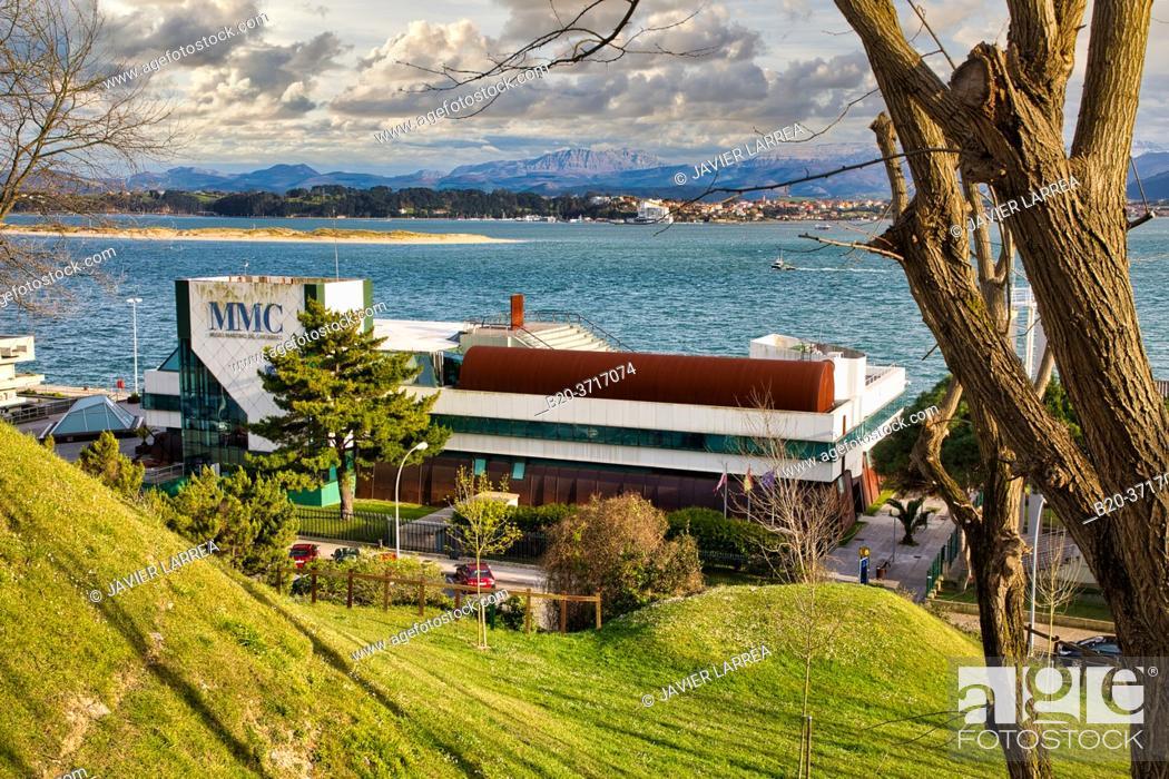 Imagen: Museo Marítimo del Cantábrico, Santander Bay, Santander, Cantabria, Spain, Europe.