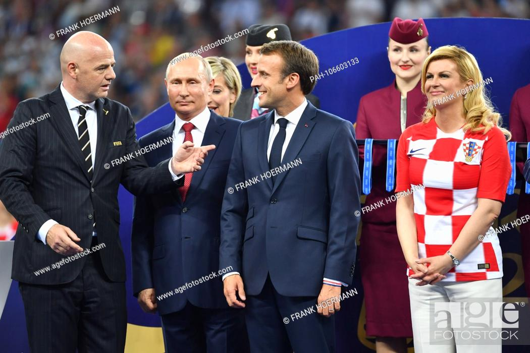 From Gianni Infantino Fifa President Vladimir Putin President Russia Stock Photo Picture And Rights Managed Image Pic Pah 106603133 Agefotostock