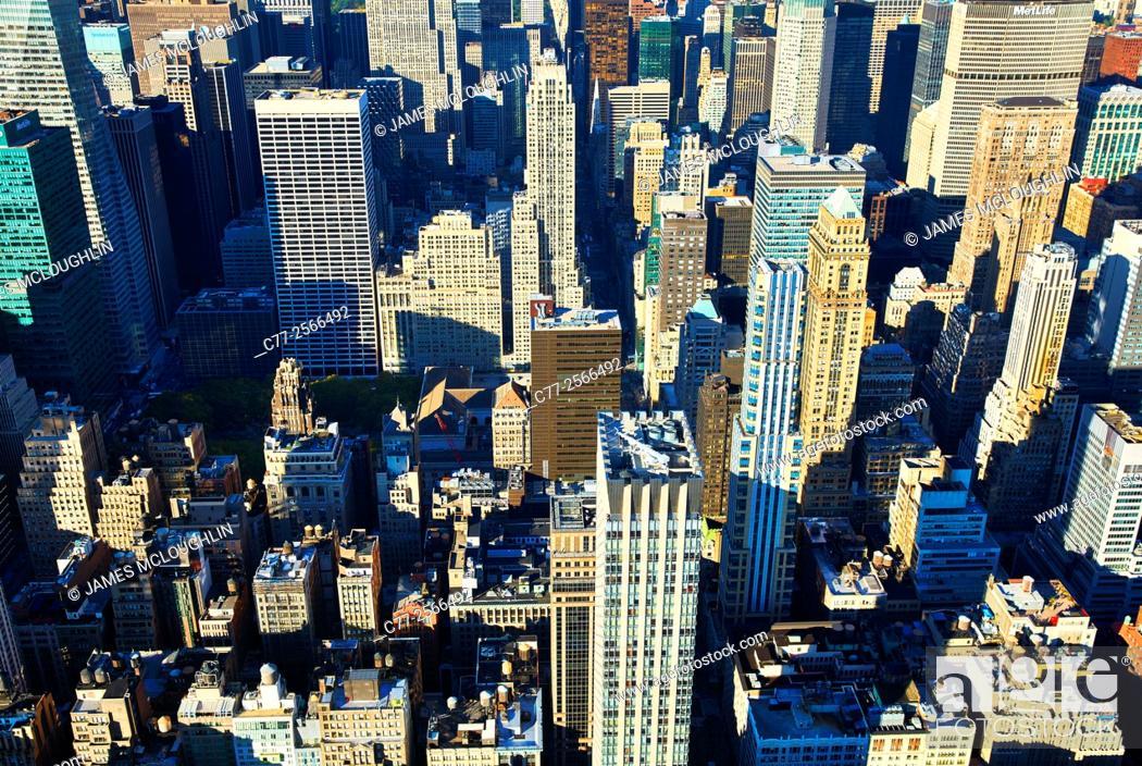 Imagen: New York City, Manhattan, Skyline, Skyscrapers.