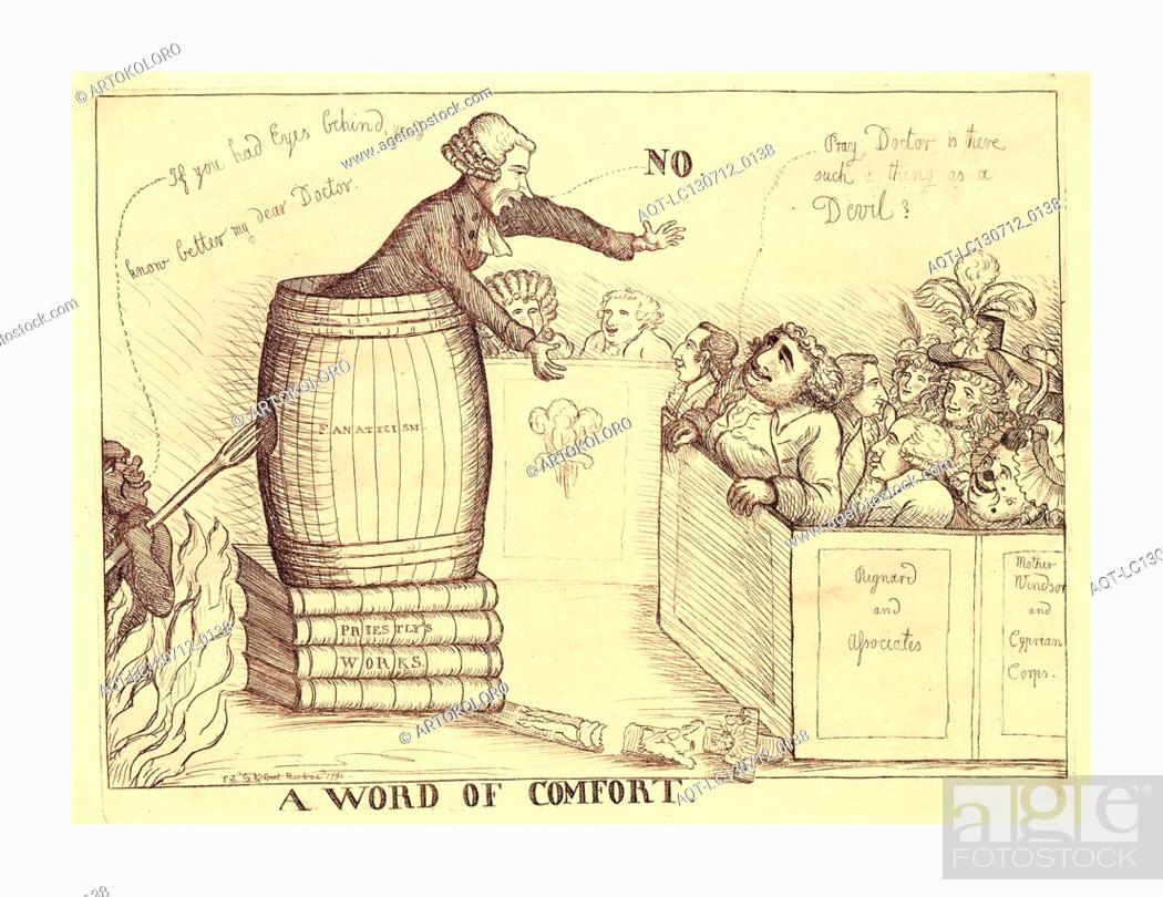 A Word Of Comfort Dent William Active 1783 1793 En Sanguine