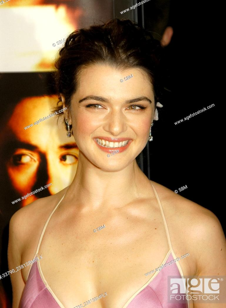 "Stock Photo: Rachel Weisz at the """"Runaway Jury"""" World Premiere at the Pacific's Cinerama Dome Theater in Hollywood, CA. The event took place on Thursday, October 9, 2003."