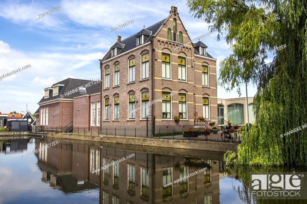 Photo de stock: Volendam, North-Holland, the Netherlands, Europe.