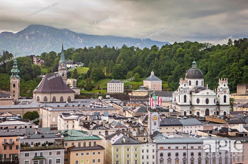 Stock Photo: Old town, Salzburg, Austria.