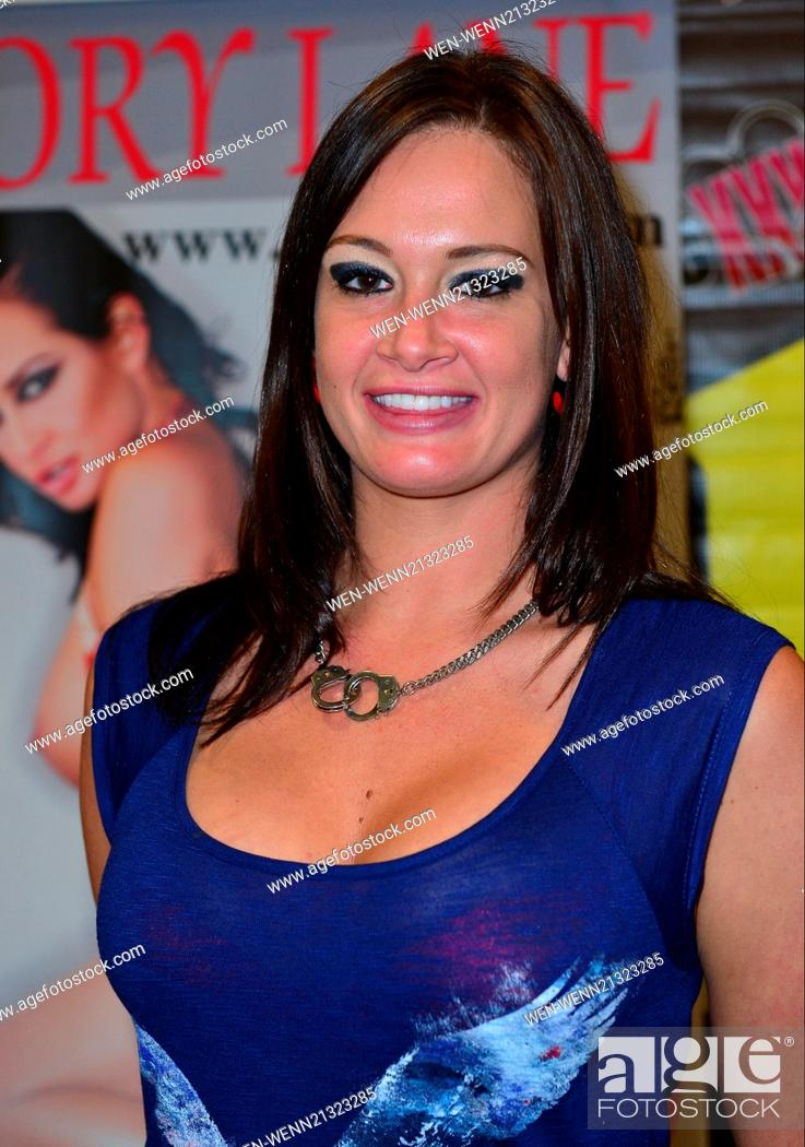 Stock Photo Exxxotica 2014 Convention Expo Day 3 Featuring Tory Lane Where Fort Lauderdale Florida United States When  Credit Jln