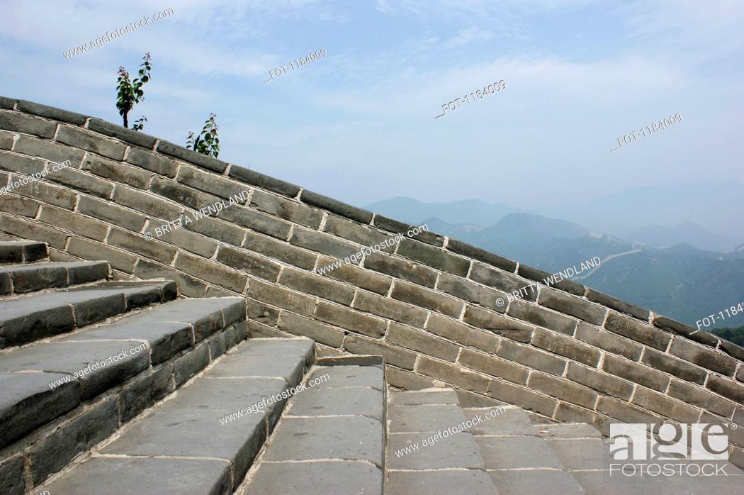 Stock Photo: Great Wall of China.