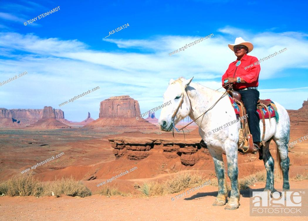 Stock Photo: USA - National Park - Monument Valley.