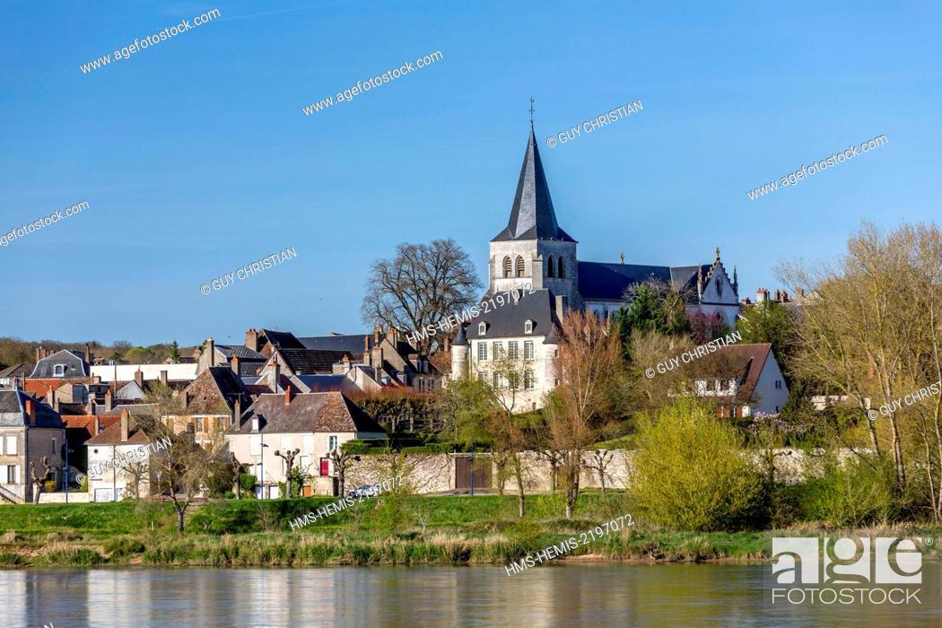 Photo de stock: France, Nievre, Pouilly sur Loire.