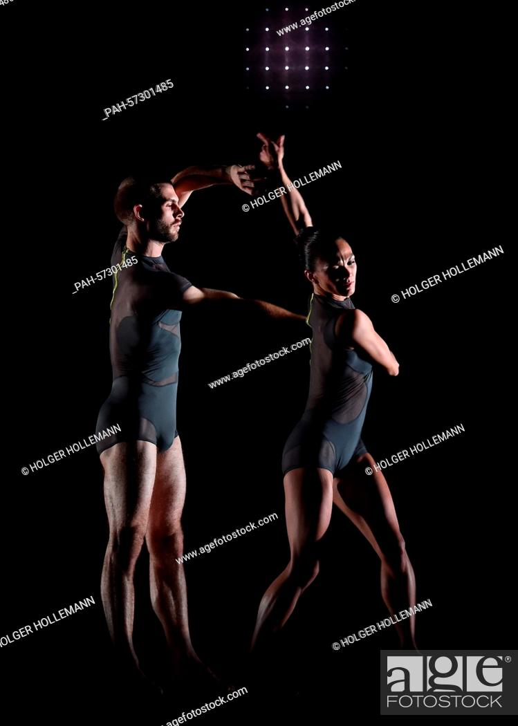 Dancers with the Sydney Dance Company rehearse for a