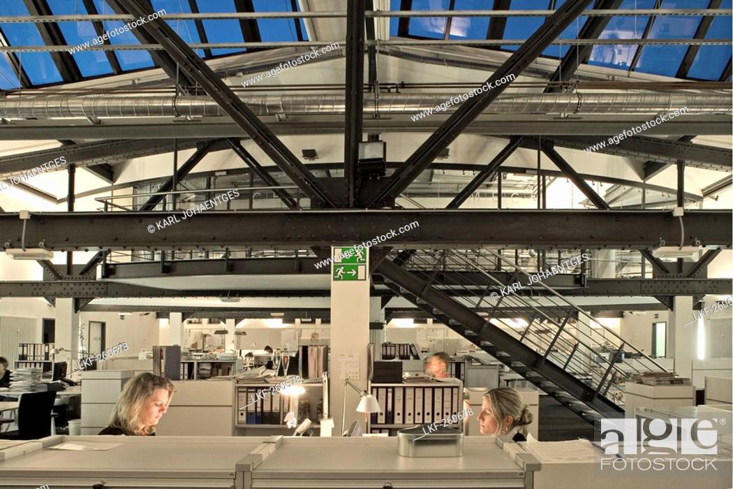 Stock Photo: MECH advertising agency in the Kulturbrauerei, Berlin, Germany.