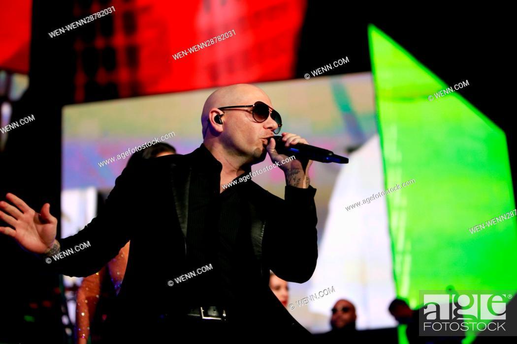 Singer Pitbull headlines the 'Bad Man Tour' at the