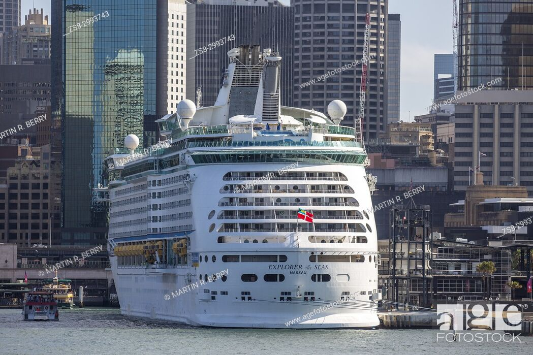 Royal Caribbean MS Explorer of the Seas Cruise Ship in Sydney