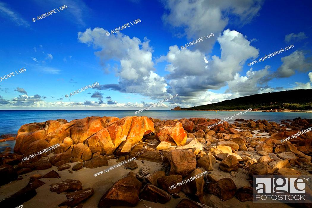 Stock Photo: Castle Rock Bay, once a resting point for whalers, now a popular tourist area, Geographe Bay near Dunsborough, Margaret River area, Western Australia, Australia.