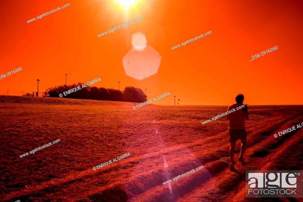 Imagen: Runner, A Coruña, Galicia, Spain.