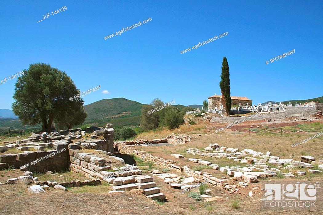 Stock Photo: Greece : Messini.