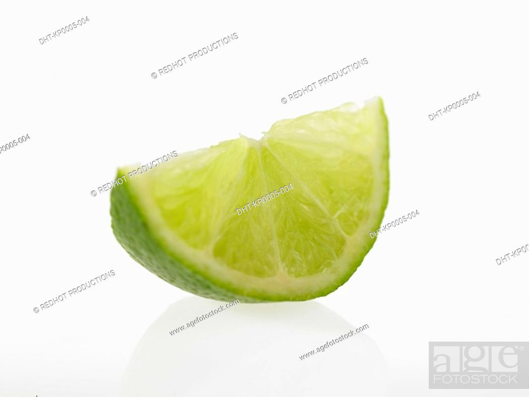 Stock Photo: Slice of Lime.