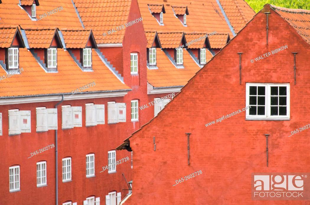 Stock Photo: Denmark, Zealand, Copenhagen, Kastellet, building of the old fortress.