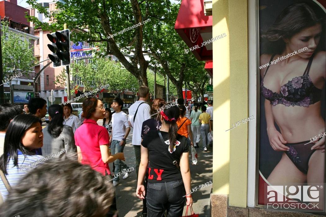 best service f849a 573b0 Dessous Shop, Huaihai Xilu, window display, window ...