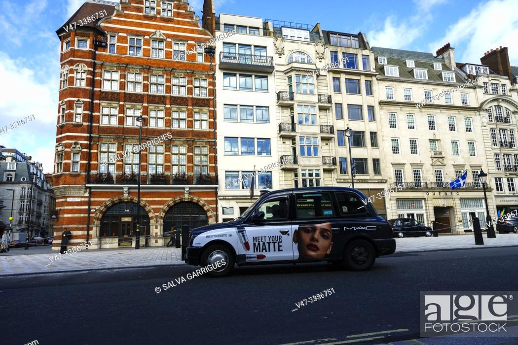 Imagen: Typical facades of central London.
