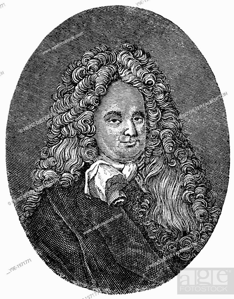 Eberhard von Danckelmann, 1643 - 1722, a German official who