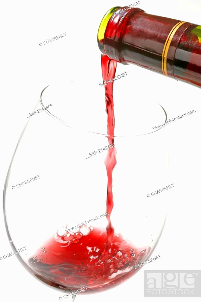 Stock Photo: WINE.