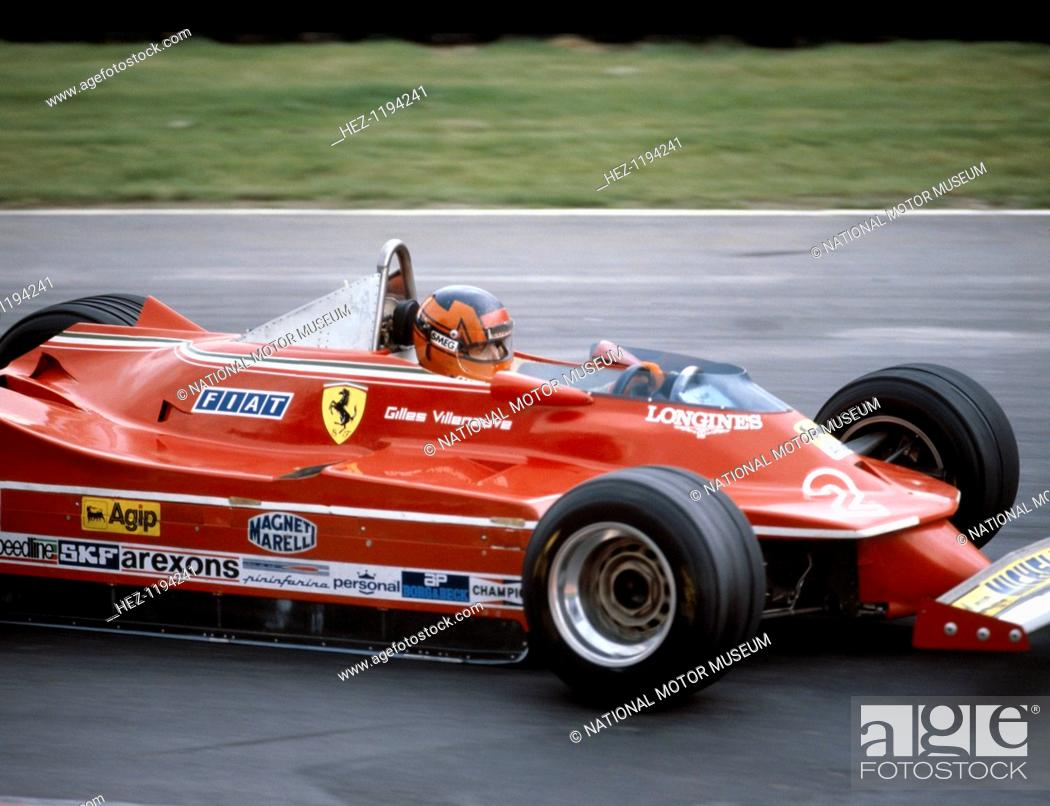 Gilles Villeneuve Racing A Ferrari 312t5 British Grand Prix Brands Hatch 1980 Stock Photo Picture And Rights Managed Image Pic Hez 1194241 Agefotostock