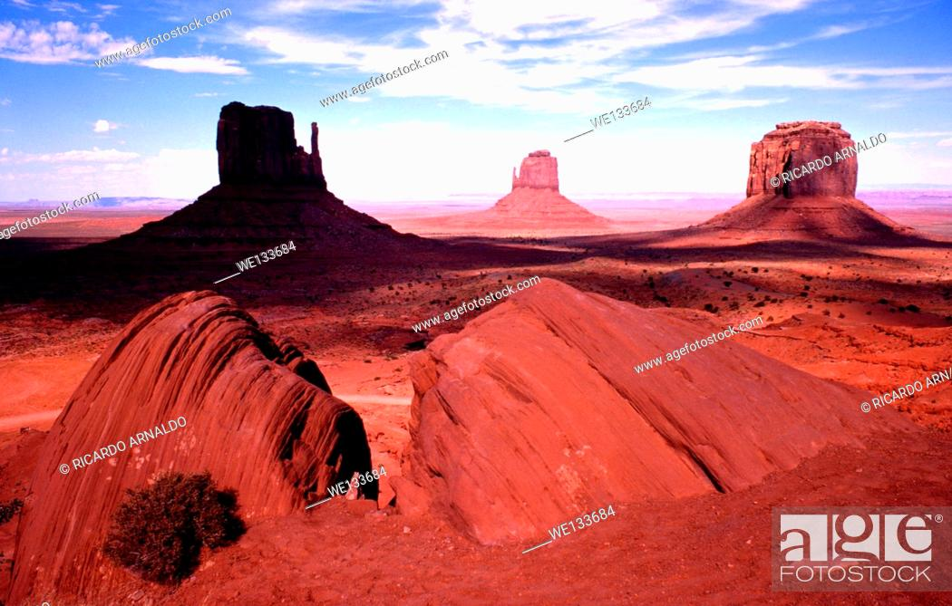 Imagen: Monument Valley, Arizona.