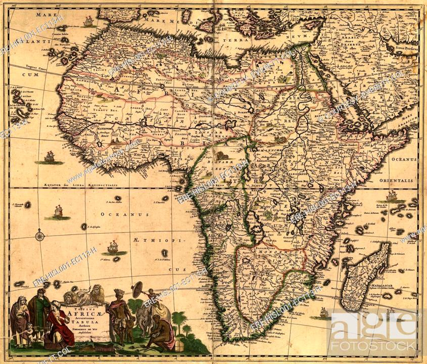 1688 map of Africa, densely filled with place names and key regions Key Map Of Angola on map of african countries, map of southern europe, map of djibouti, map of chile, map of africa, map of lesotho, map of latvia, map of madagascar, map of mozambique, map of zambia, map of ghana, map of botswana, map of spain, map of bolivia, map of philippines, map of armenia, map of argentina, map of albania, map of burkina faso, map of namibia,