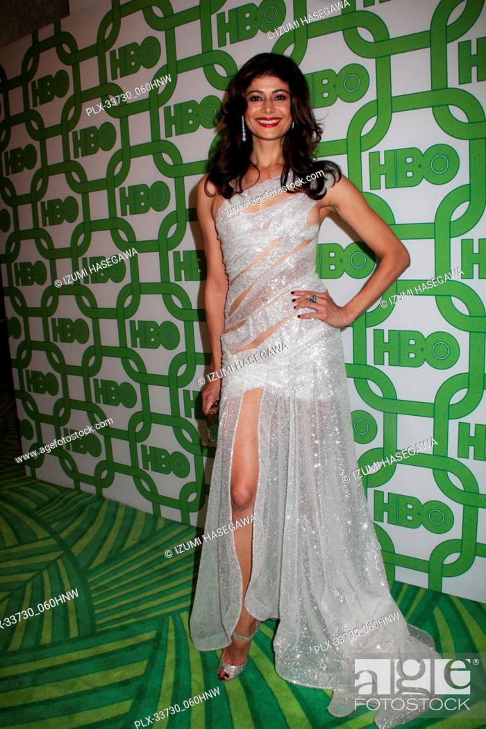 Imagen: Pooja Batra 01/06/2019 The 76th Annual Golden Globe Awards HBO After Party held at the Circa 55 Restaurant at The Beverly Hilton in Beverly Hills.